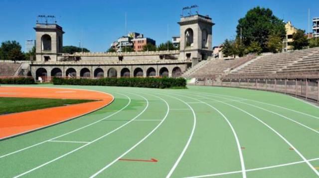 Inaugurata la nuova pista d'atletica dell'Arena, presente anche Olimpia Milano