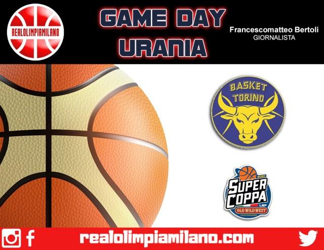 Torino vs Urania Wildcats | In campo alle ore 12 al PalaBenedetto