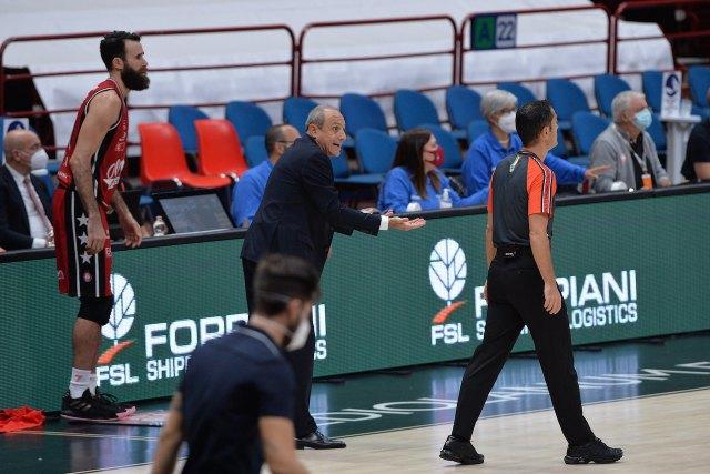 Ettore Messina: Temevo questa partita, bravi a non innervosirci