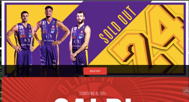 Olimpia Milano per Kobe Bryant: sold out le canotte delle Final Eight 2020
