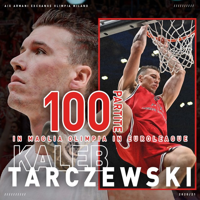 Kaleb Tarczewski 100