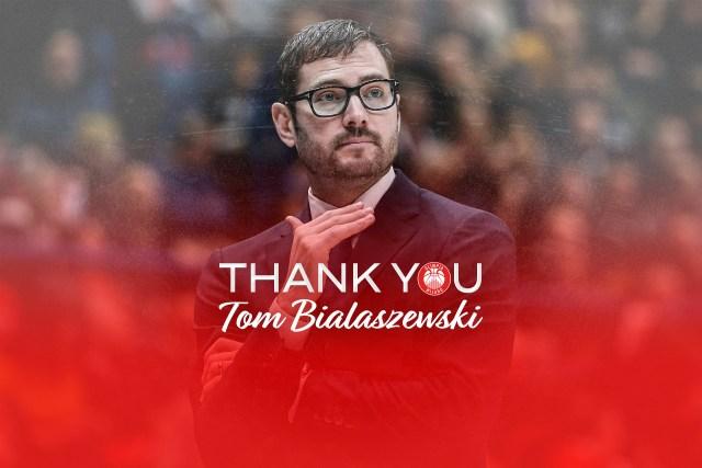 L'assistente Tom Bialaszewski lascia l'Olimpia Milano