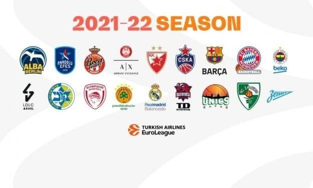Ecco le 18 dell'EuroLeague 21-22 | Confermate Zenit e Stella Rossa