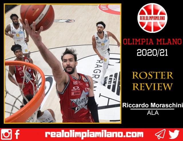 Olimpia, cosa resta della stagione 2020/21: Riccardo Moraschini