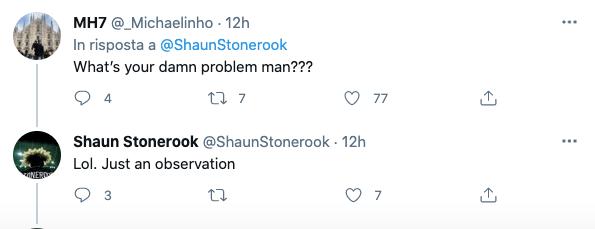 Mike Hall risponde a Shaun Stonerook: Qual è il tuo problema uomo?
