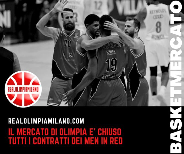 Olimpia Milano 2021-2022: tutti i contratti degli uomini di Ettore Messina