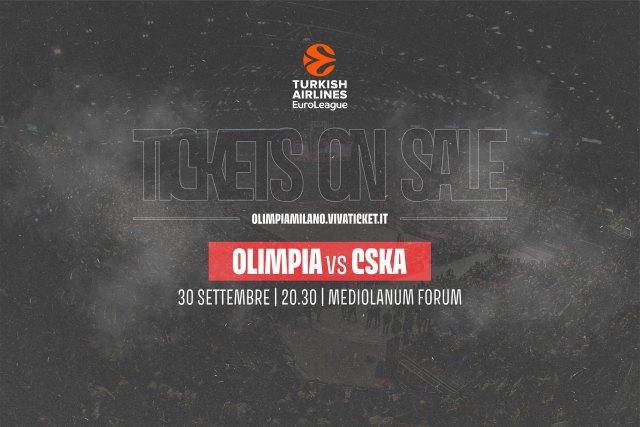 Olimpia Milano Cska Biglietti