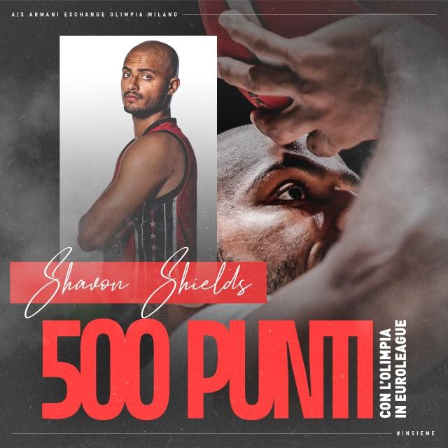 Shavon Shields 500