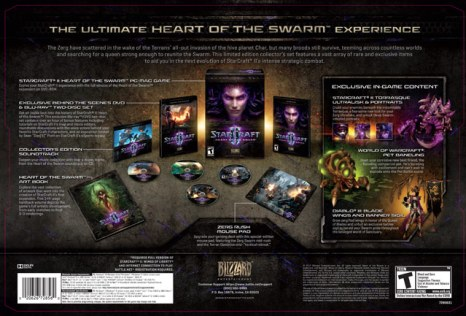 Starcraft 2 Collector's bundle