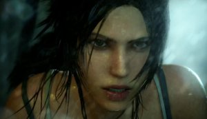 The tone is a little dark for a Tomb Raider game.