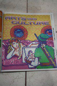 Legend of Zelda art Miami New Times