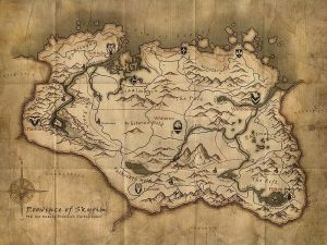 map-Skyrim