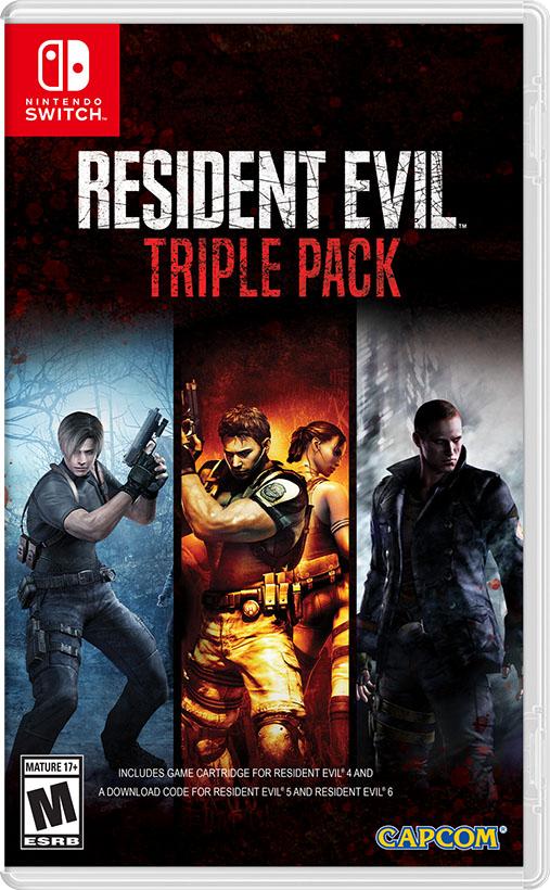 Resident Evil Triple Pack Trailer Released Real Otaku Gamer