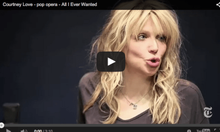 I Courtney Love Weirdness