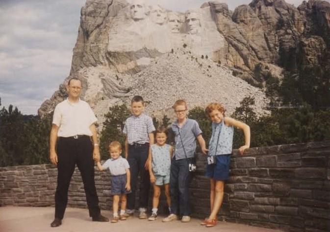 Chris Mason at Mount Rushmore