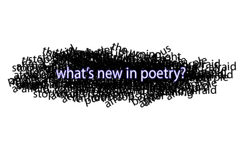 What's New in Poetry, 1-1-15