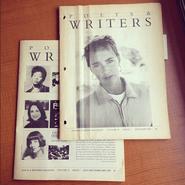 #TBT Poets & Writers Magazine circa 1987-1988.