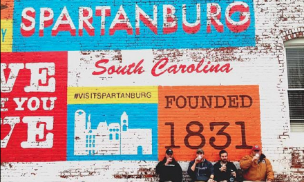 Betsy Teter on Spartanburg, South Carolina