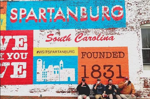 Betsy Teter on Spartanburg, South Carolina