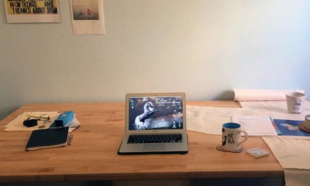 From the Desk of … Megan Stielstra