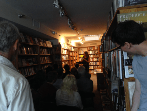 Sommer Browning Reading at Bridge Street Books.