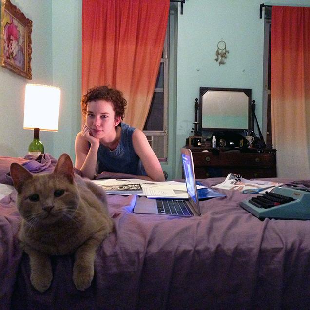 The desk of Melissa McDaniel