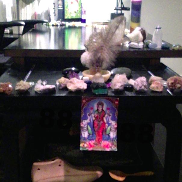 the desk of CA Conrad