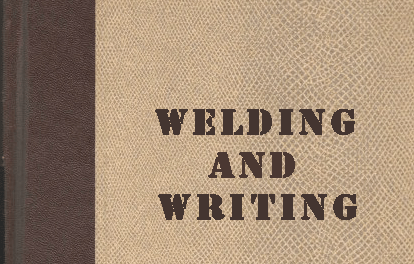 Welding & Writing
