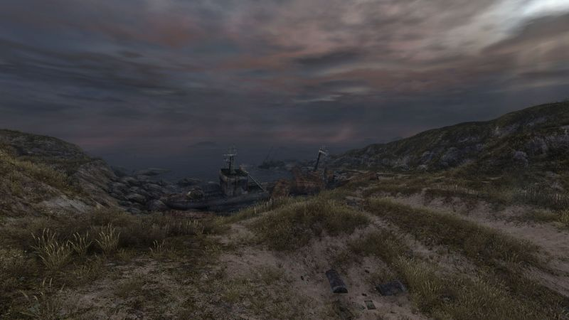 A Shipwreck in Dear Esther