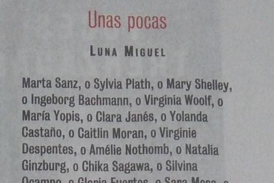 A Few (by Luna Miguel)