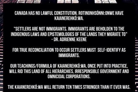 Settlers, Immigrants, and the Kaianerehkó:wa