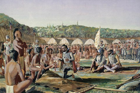 Hochelaga: the mystery village of the Iroquois