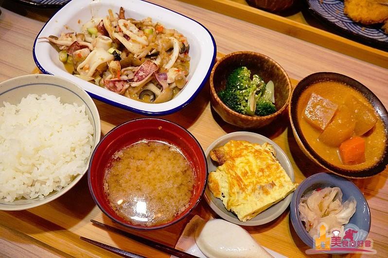 夏屋食堂 低調簡約 每週更換家常小菜 日式定食料理