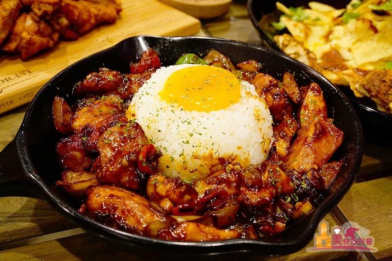 【高雄早午餐】巷弄裡低調綠意異國料理餐廳  Dark Forest 森夜早午餐餐廳