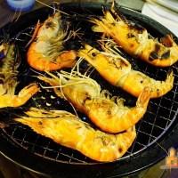 【高雄吃到飽】泰蝦pa水道泰國蝦燒烤吃到飽 活跳跳的泰國蝦隨夾隨烤任你吃