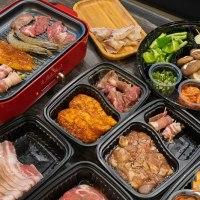 【高雄燒烤】Oh!Yaki 精緻燒肉外帶套餐(高雄店)  提供BRUNO電烤盤讓在家吃燒烤有儀式感