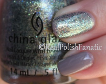 China Glaze - Dope Taupe & Holo At Ya Girl // Fall 2016 Rebel Collection
