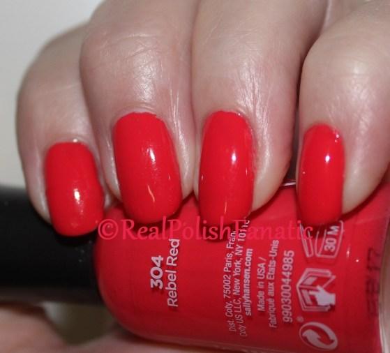 Sally Hansen - Rebel Red