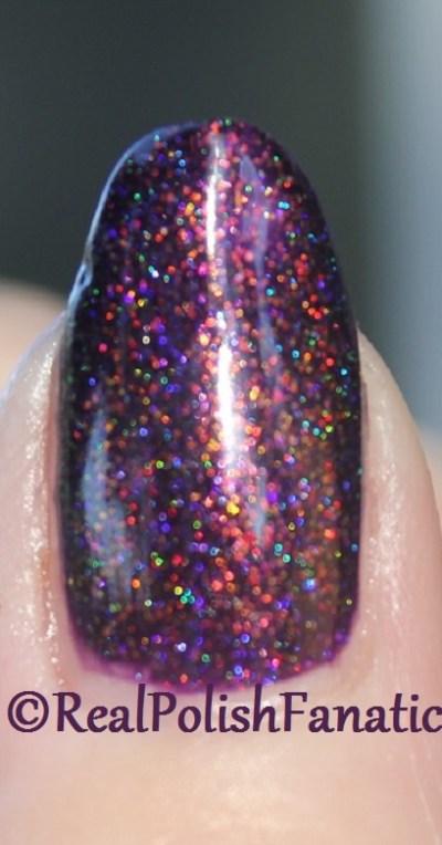 ILNP Real Magic™ Toppers – The Alchemist over Blackheart Beauty Dark Purple Galaxy