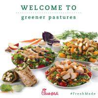 Chick-fil-A Wraps their Menu with #FreshMade Salads