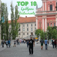Top 10 Restaurants in Ljubljana
