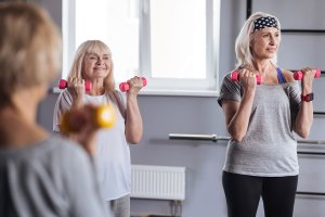 slower workouts for seniors near me