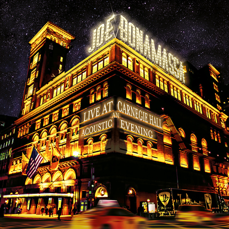 Pre-Order: JOE BONAMASSA LIVE AT CARNEGIE HALL – AN ACOUSTIC EVENING