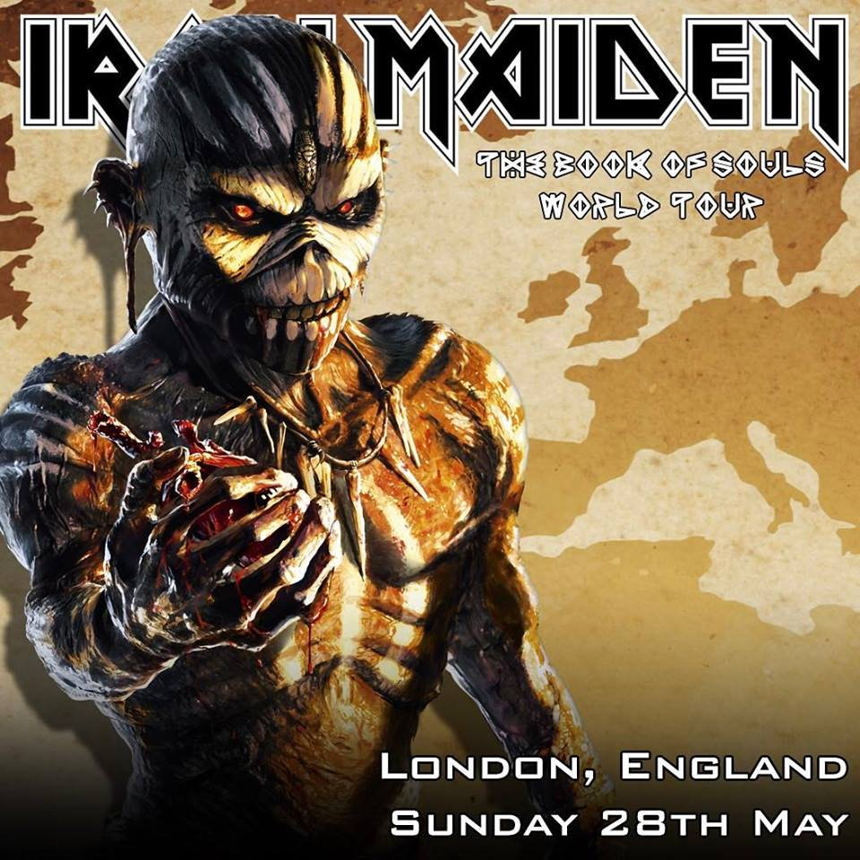 Gig review: Iron Maiden – O2 Arena London – 28/5/17