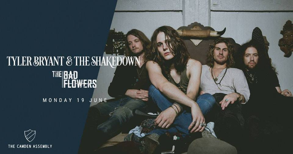Gig review: The Bad Flowers/Tyler Bryant and The Shakedown – 19/6/17 – Camden Assembly