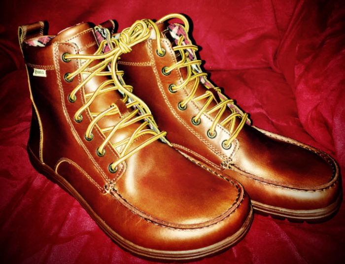 This Is The Lems Men S Boulder Boot Leather Russet Shoe A