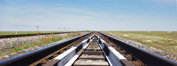 Image result for tracks crossing on the trans-siberian railway to Yekaterinburg
