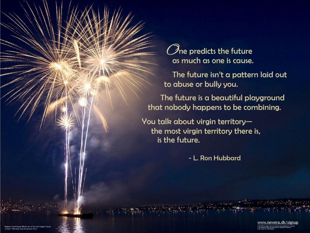 Happy New Year Wishes Map Your Future Real Scientology