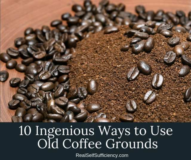 how  to use coffee grounds