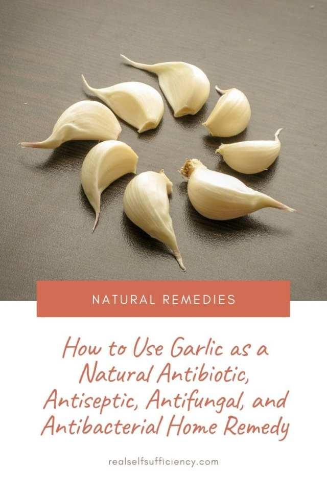 garlic as a home remedy